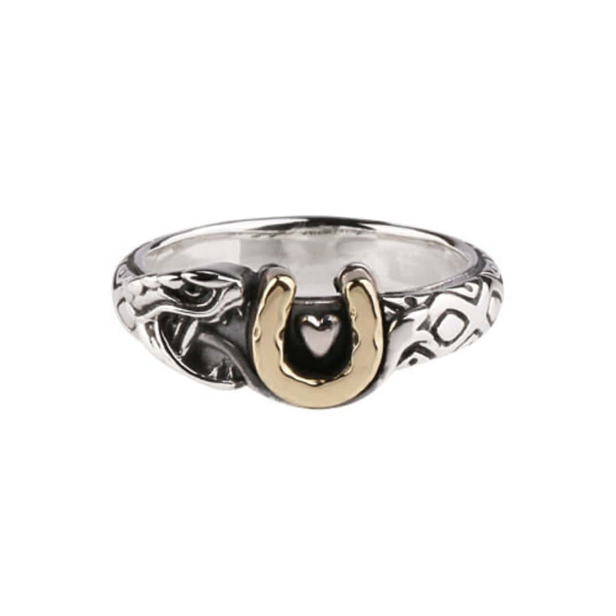 Snake Horseshoe Ring